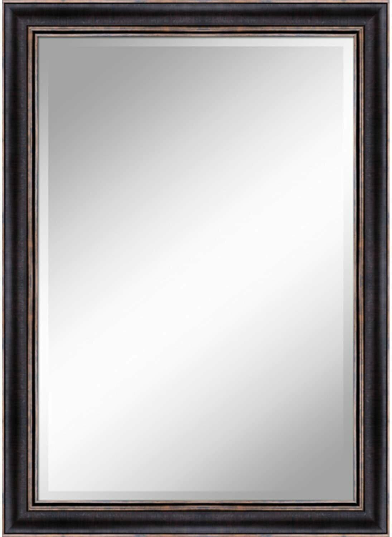Bronze w/Gold Trim Mirror (DISPLAY ONLY)