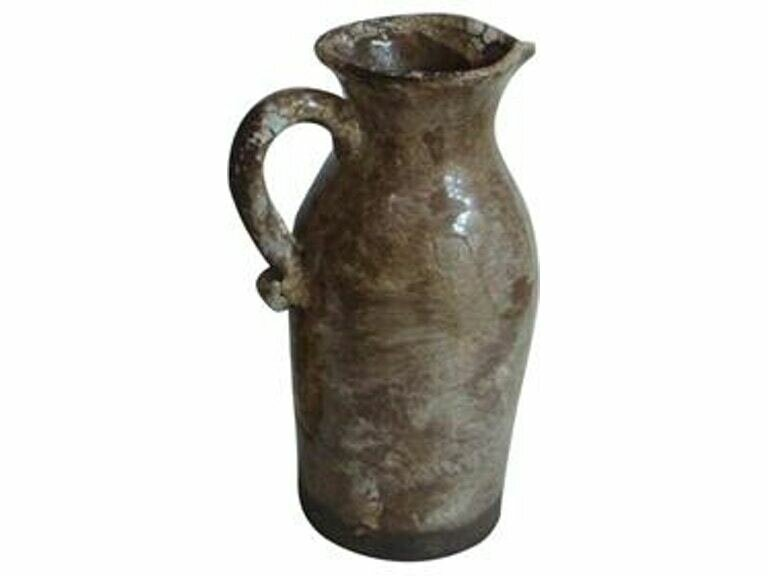 Rustic Hand-Made Pitcher (DISPLAY ONLY)