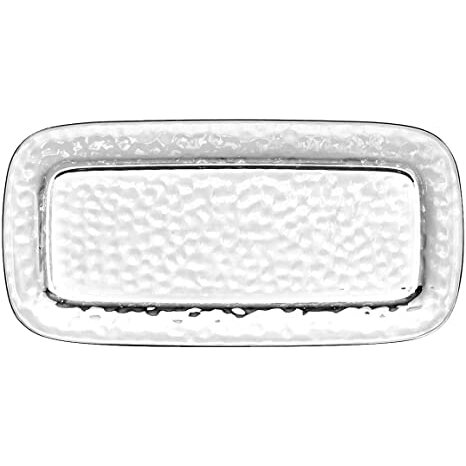 Vasaio Appetizer Tray Clear