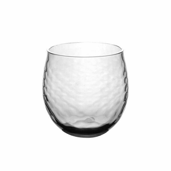 Azura 15.5 OZ Roly Stemless Clear Glass