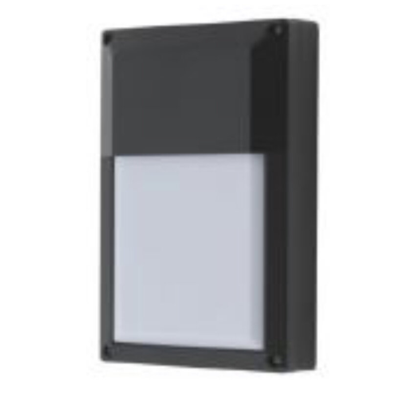 8W LED Black Module Extorior Light