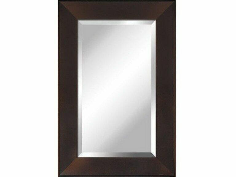 Espresso Framed Mirror