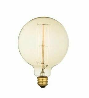 Oversized Vintage Clear 60W 120V Incandescent Bulb