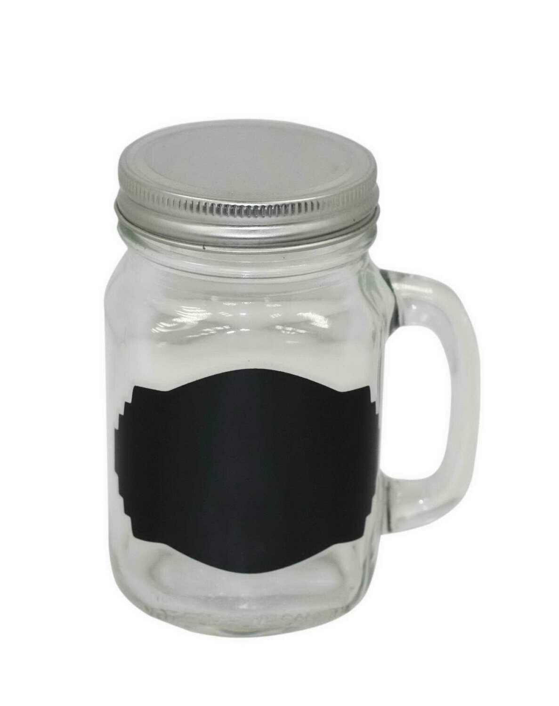 10 OZ Citro Mason Jar w/Candle