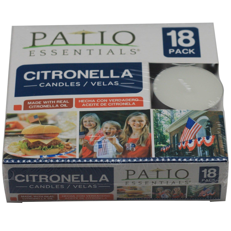 18 Pc Citro Tea Lights Patriotic