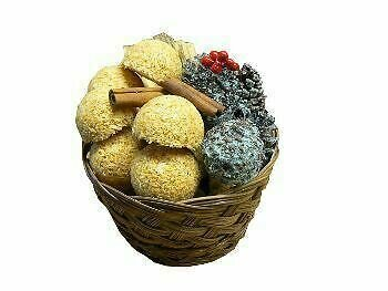 Round Basket Gift Set