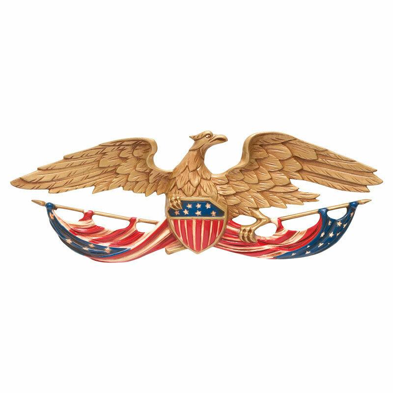 Color Patriotic Wall Eagle