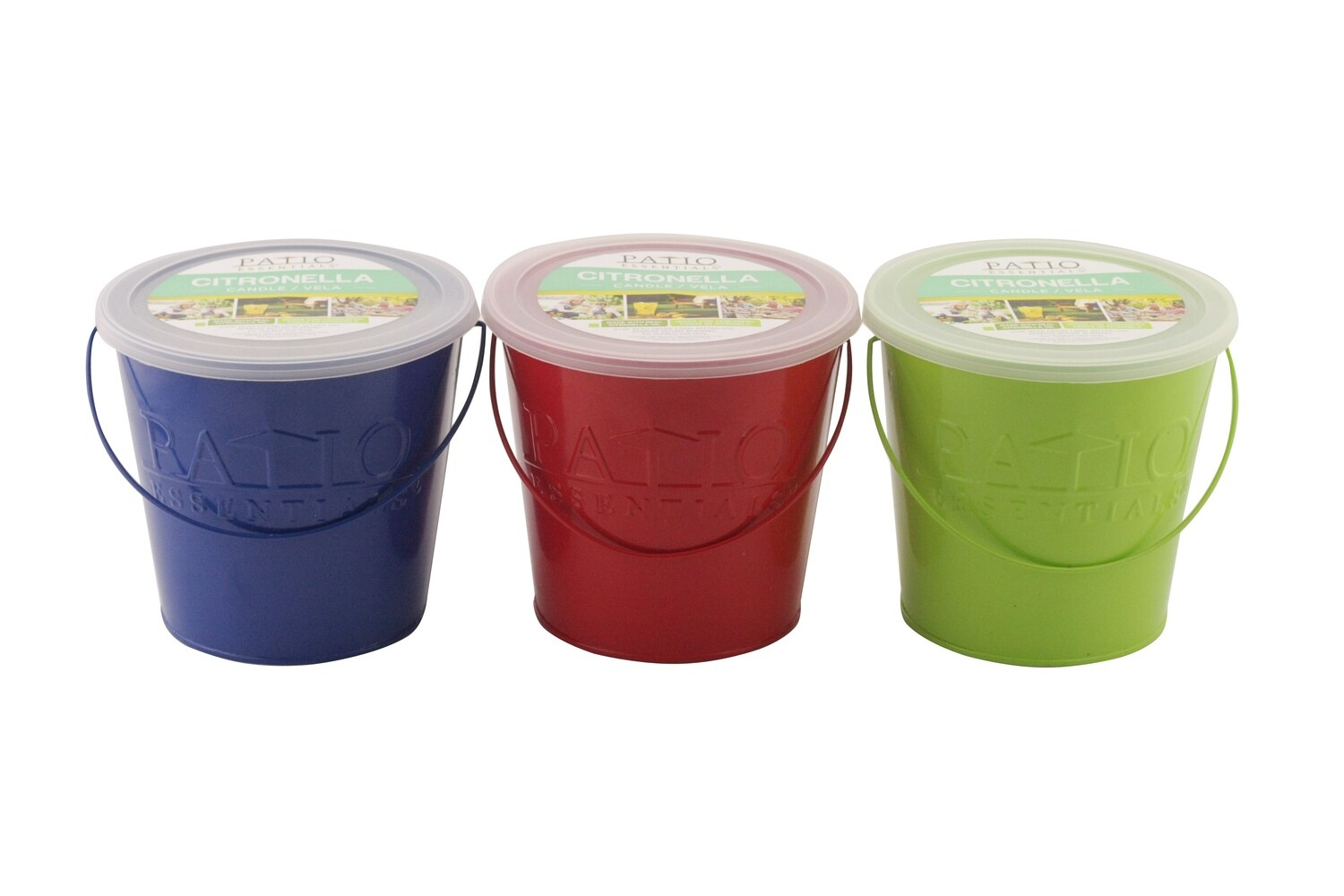 17 OZ Citronella Painted Bucket Candle