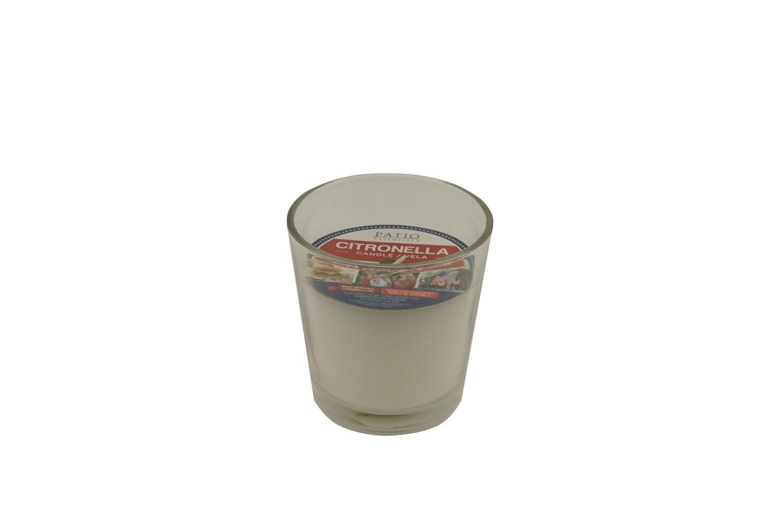 Citronella Glass Jar Candle Patriotic
