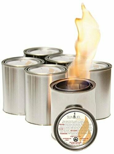 Sunjel Pure Gel Firespace Fuel 6PK