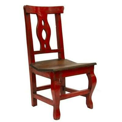 Atlis Red/Walnut Dining Chair