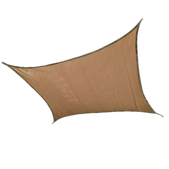 12' Square Sand Sun Shade Sail