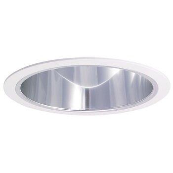 60W A-19 Specular Cone Reflector w/Ring
