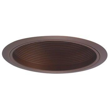 BR30/PAR30 Bronze Steppd Baffle w/Ring