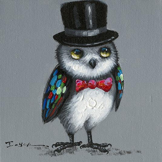 Wise Owl Art