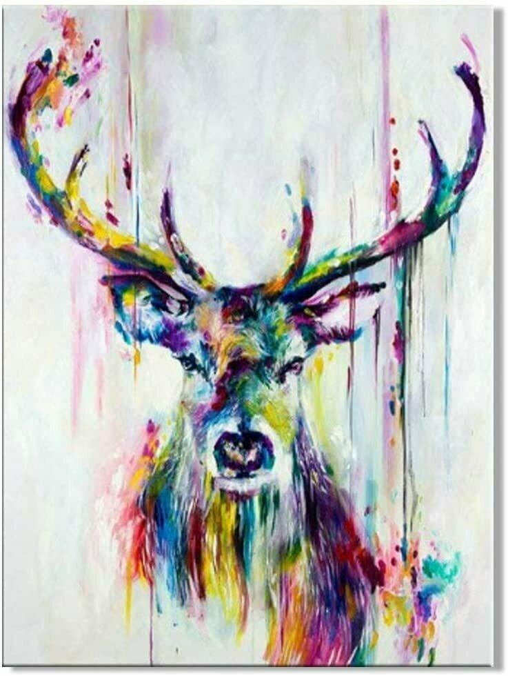 Beautiful Stag Art