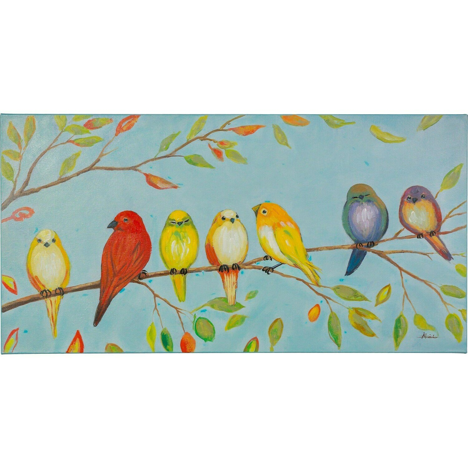Love Birds Art