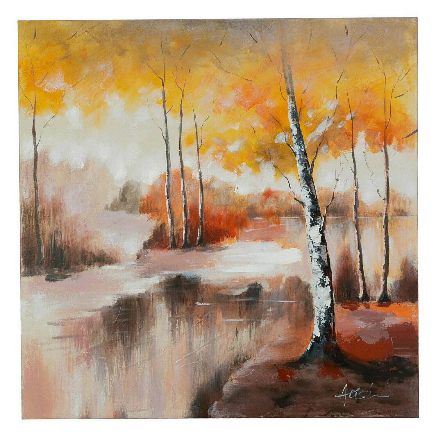 A Place Of Tranquility Painting