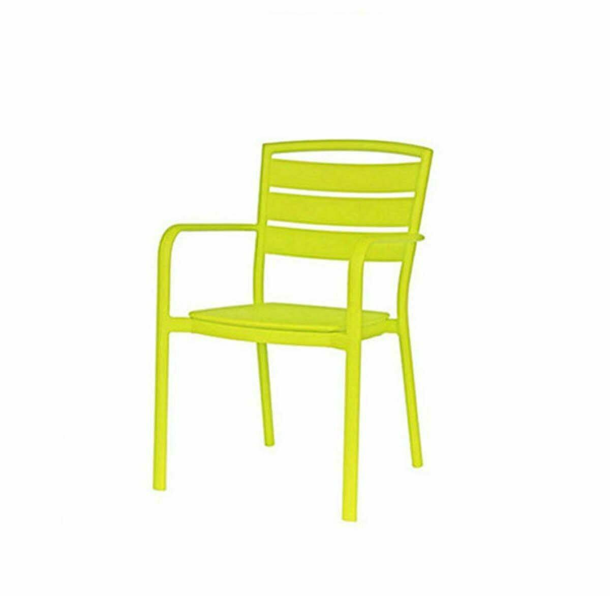 Ciara Green Dining Arm Chair