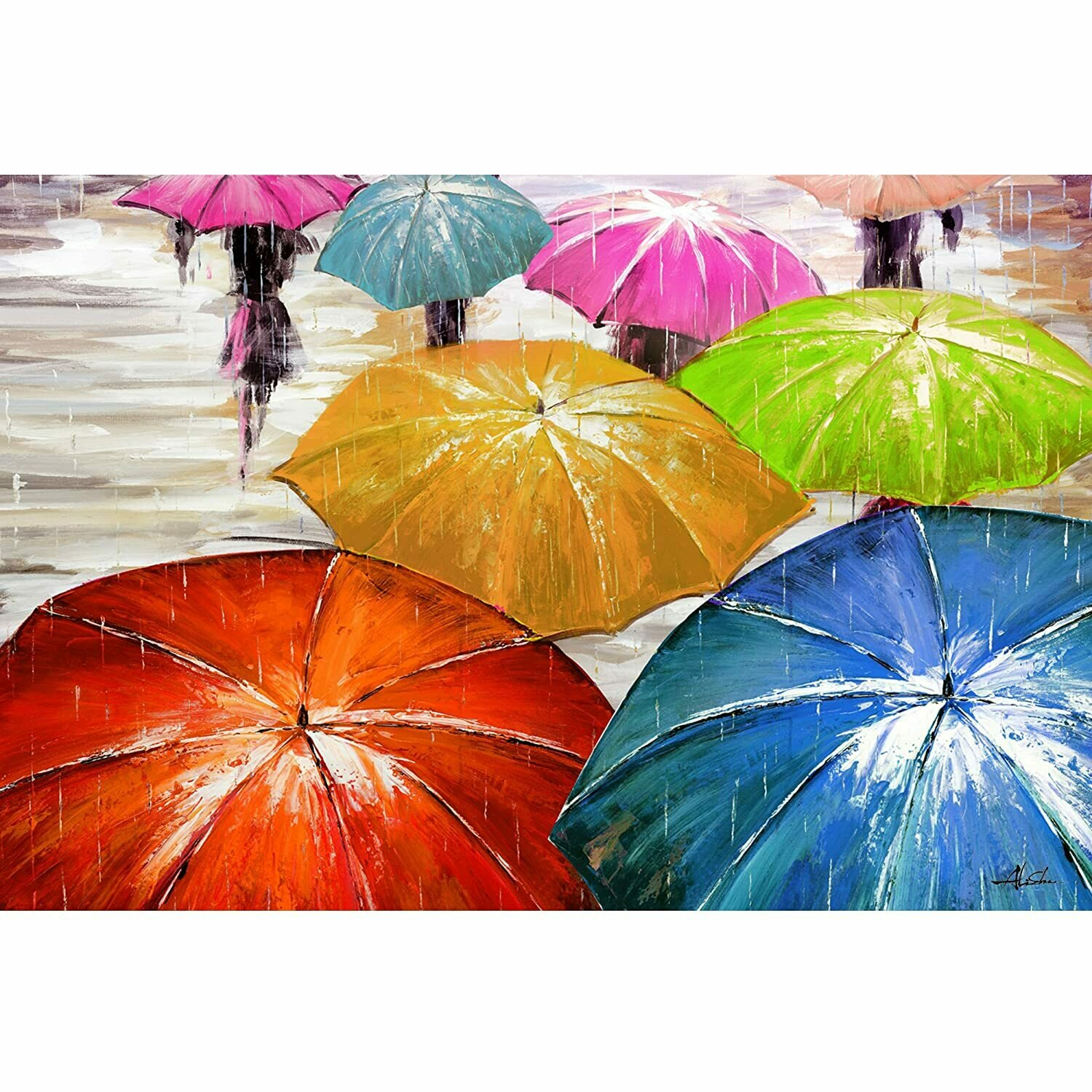 Umbrellas On Parade Art