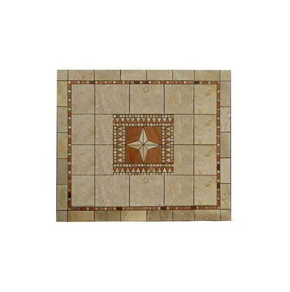 Mosaic Tuberose Square Table Top N0318