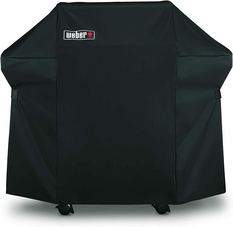 Weber Grill Cover w/Storge Bag-200 Black