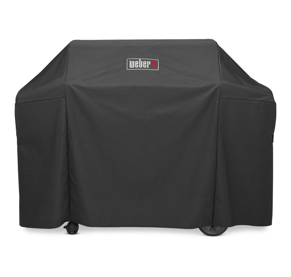 Weber Grill Cover w/Storge Bag-300 Black