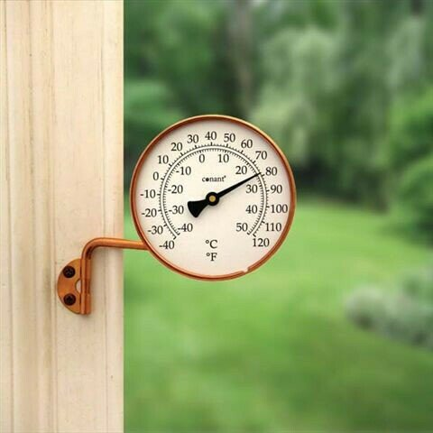 Vermont Copper Dial Thermometer