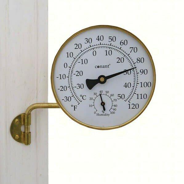 Vermont Brass Weather Station