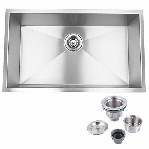 Hardy 16 GA 304 Stainless Steel Undermount Sink