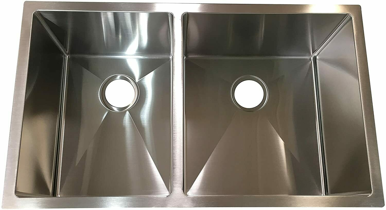 Hardy Stainless Steel Double Top Mount Sink