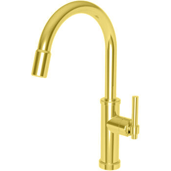 Seager Polished Gold Pull Down Faucet ***OPEN BOX DISPLAY UNIT***