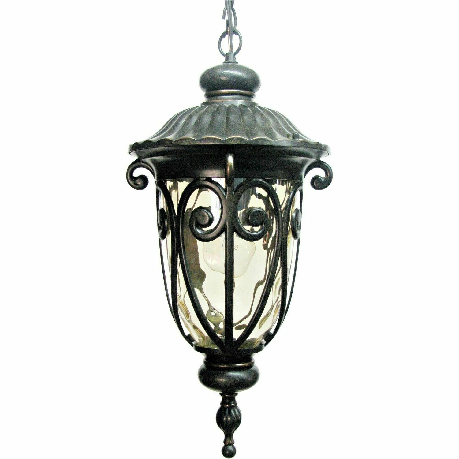 Hailee Oil Rubbed Bronze 1 Lt Exterior Hanging