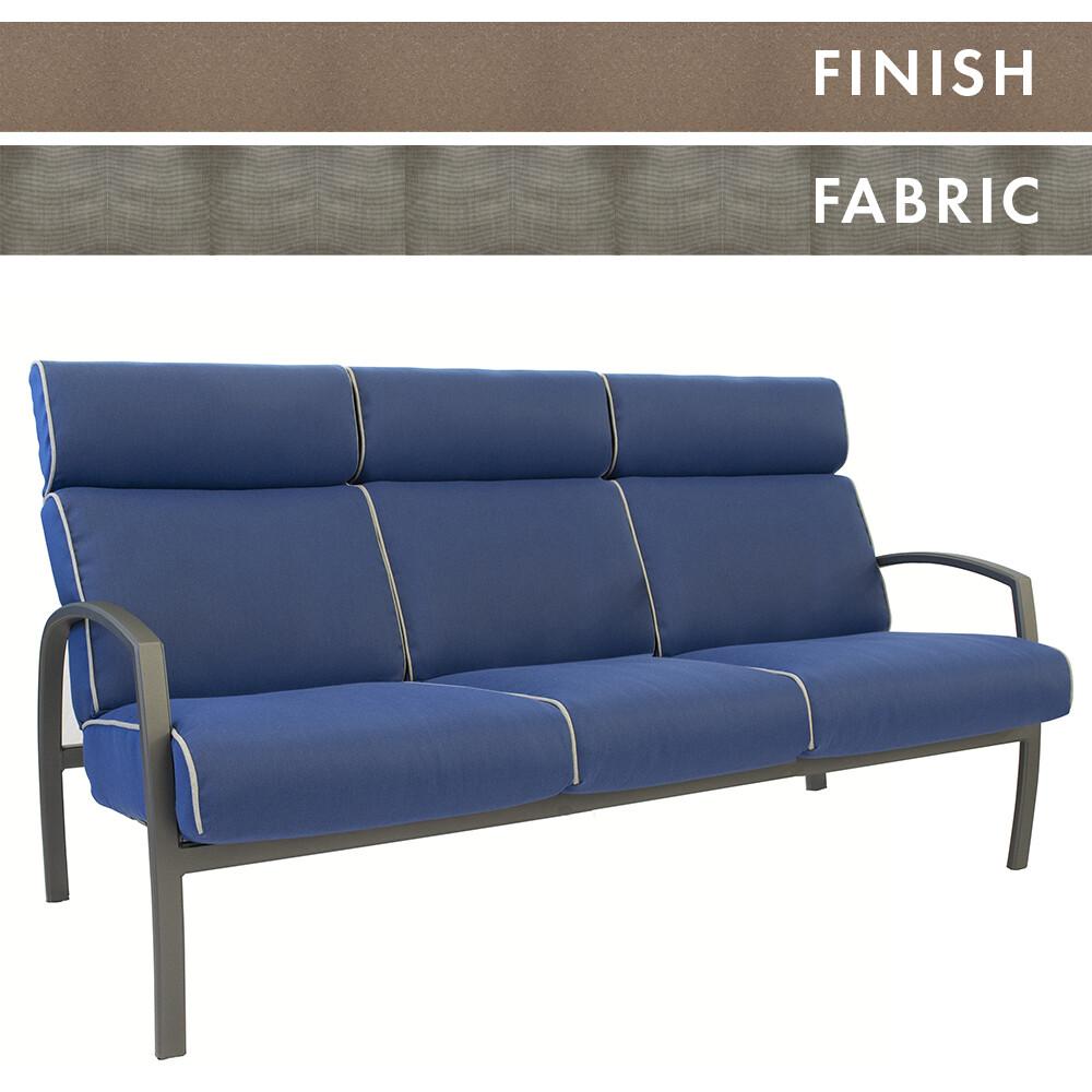 Sable Frame/Cast Ash Sofa