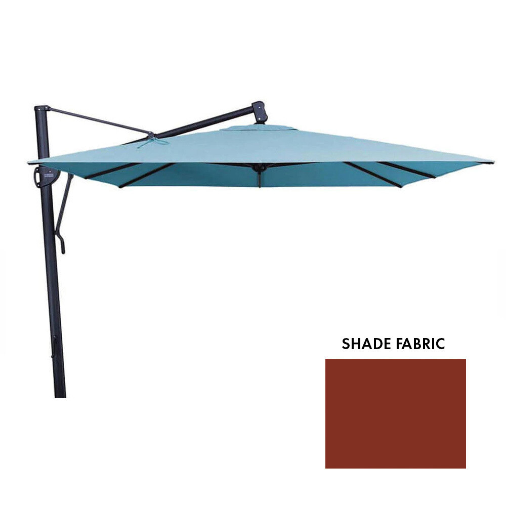 11' AKZ Octagon Auburn Cantilever Umbrella (DISPLAY ONLY) (BASE SOLD SEPARATELY)