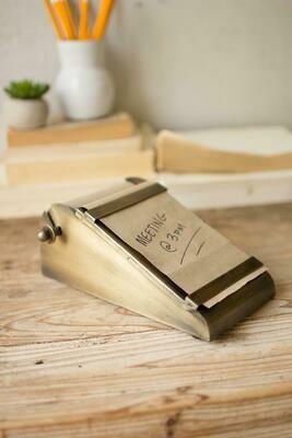 Desk Top Note Roll Holder