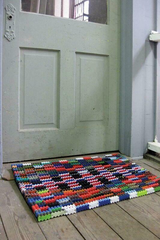 Recycled Flipflop Doormat