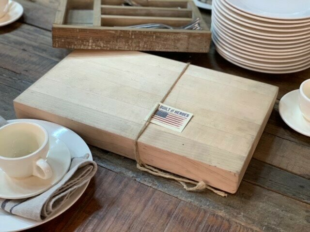 Small Chopping Block (DISPLAY ONLY)