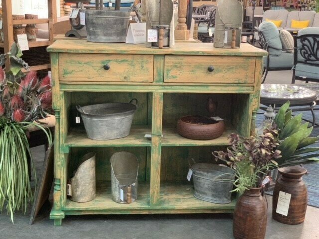 Old Florist's Front Counter (DISPLAY ONLY)