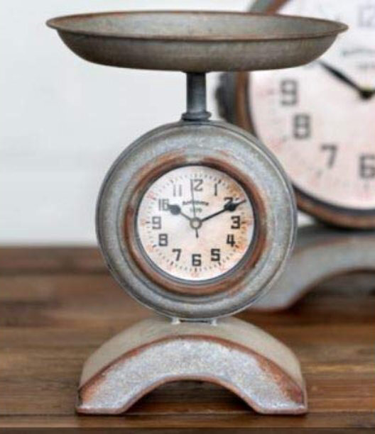 Kitchen Scale Clock (DISPLAY ONLY)