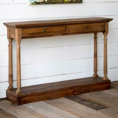 Reclaimed Pine Hall Table (DISPLAY ONLY)