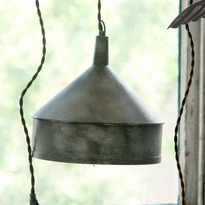 Metal Funnel Pendant Light (DISPLAY ONLY)
