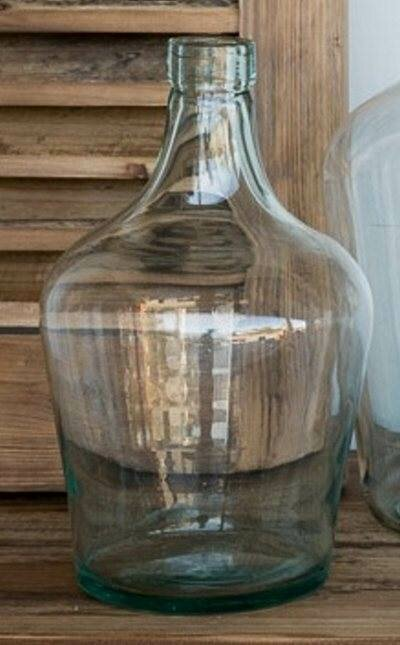 Recycled Glass Cellar Bottle Small