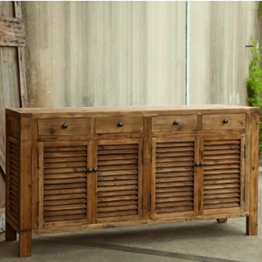 Rustic Shutter Cabinet (DISPLAY ONLY)
