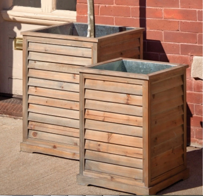 Shuttered Planter Box (DISPLAY ONLY)