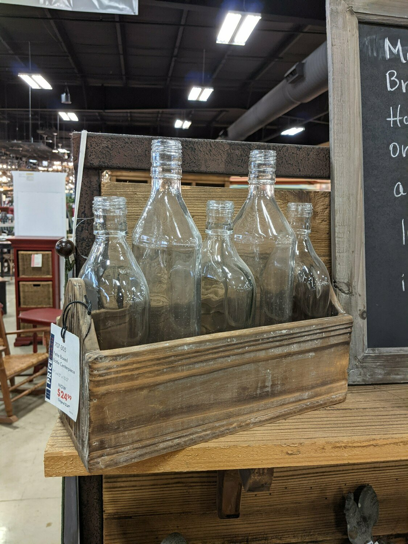 Petite Boxed Bottle Centerpeice