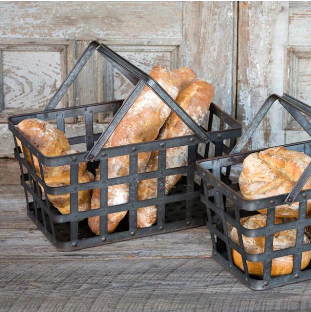 Metal Market Baskets (DISPLAY ONLY)