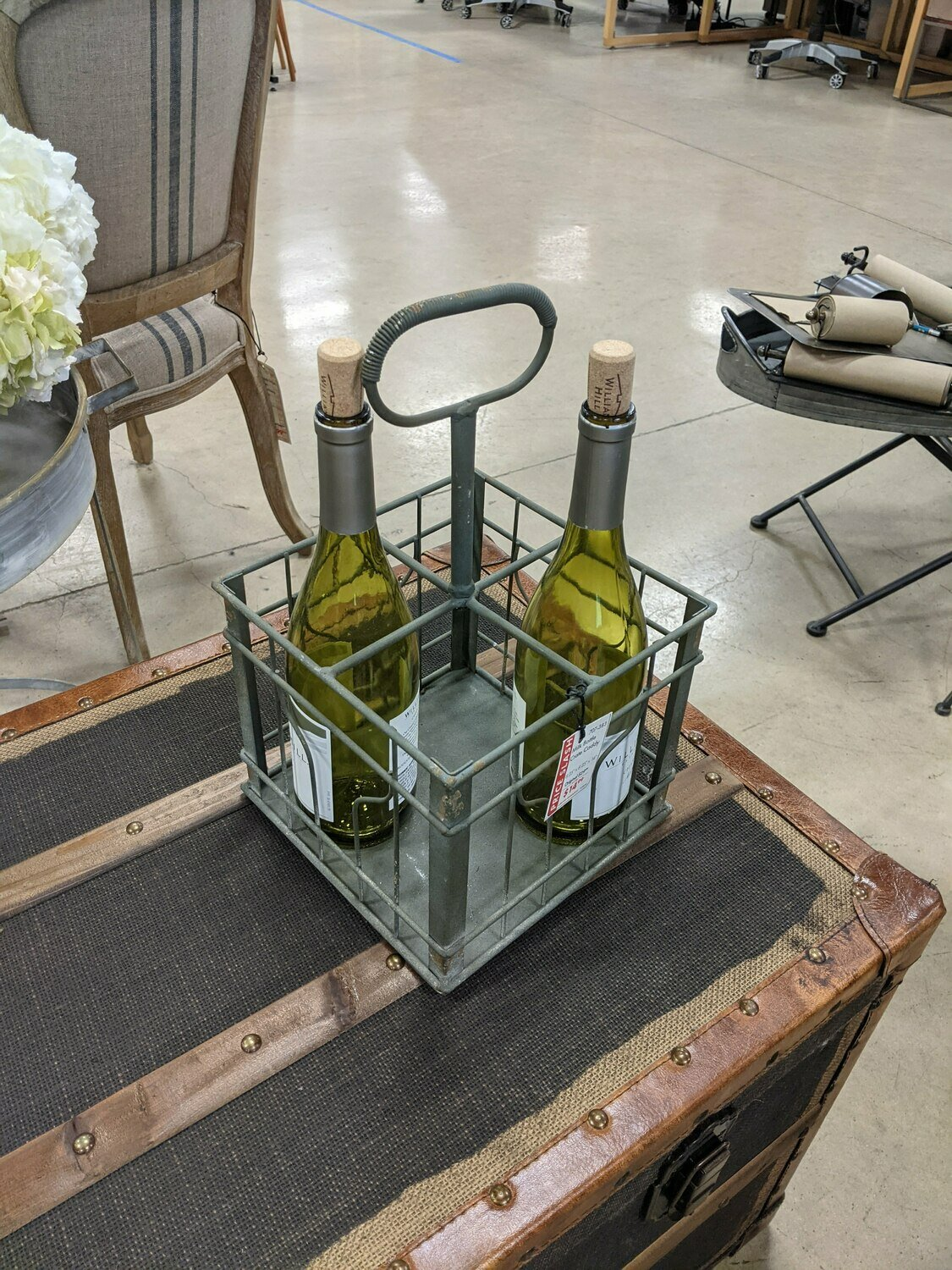 Milk Bottle Crate Caddy (DISPLAY ONLY)
