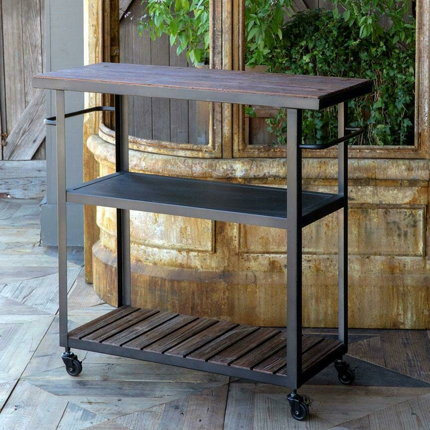Rolling Kitchen Cart (DISPLAY ONLY)