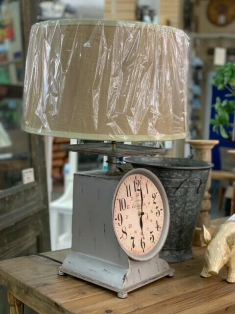 Scale Clock Lamp